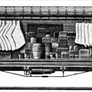Picture Of 1870 Refrigerator Car Design