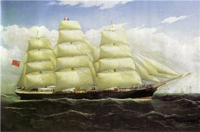 Picture Of Dunedin The First Commercially Successful Refrigerated Ship