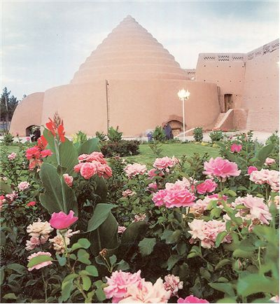 Picture Of Ice House Yakhchal Built In Kerman Iran