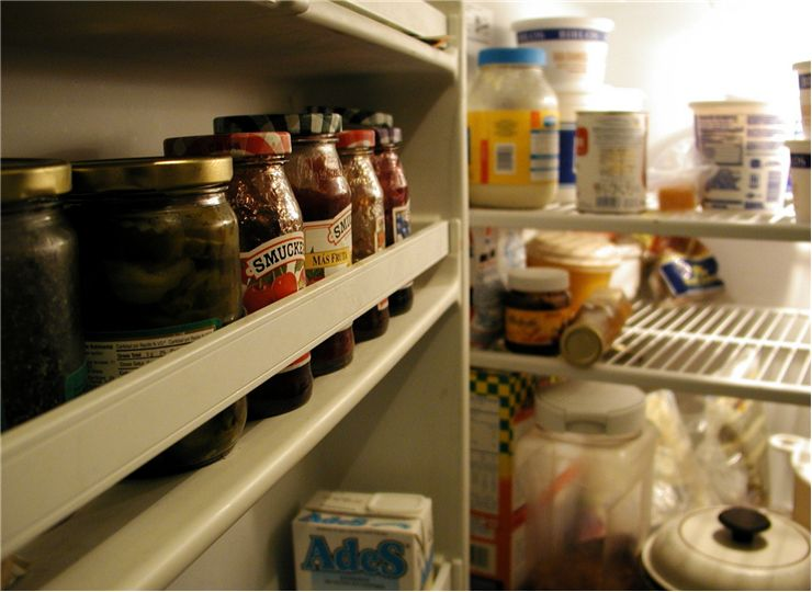 Picture Of Inside Fridge