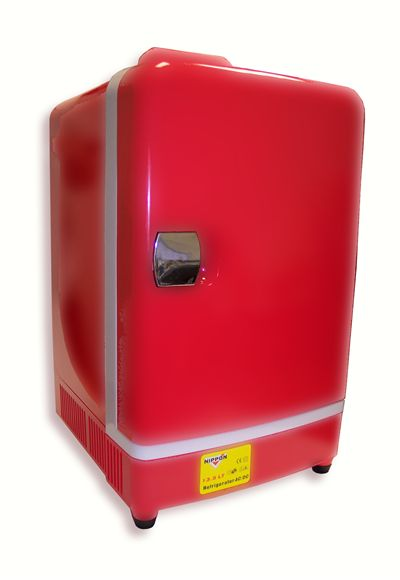 Picture Of Red Mini Fridge
